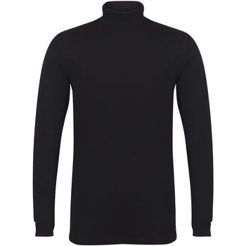 Kleidung Herren Langarmshirts Skinni Fit SF125 Schwarz