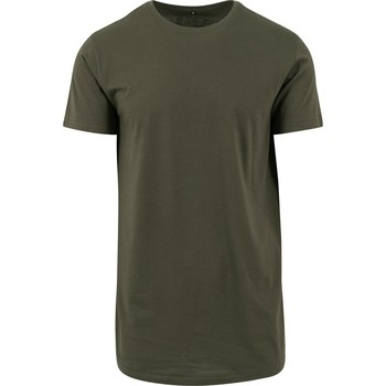 Kleidung Herren T-Shirts Build Your Brand Shaped Olive