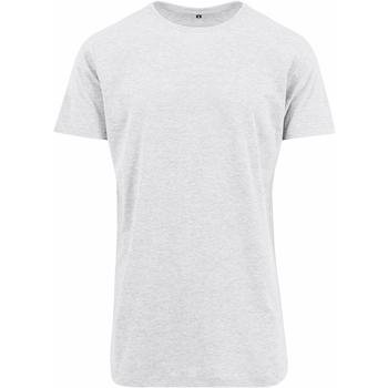 Kleidung Herren T-Shirts Build Your Brand Shaped Weiß