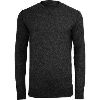 Kleidung Herren Pullover Build Your Brand BY010 Schwarz
