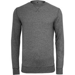 Kleidung Herren Pullover Build Your Brand BY010 Anthrazit