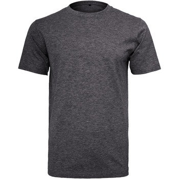 Kleidung Herren T-Shirts Build Your Brand Round Neck Anthrazit