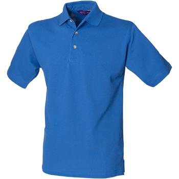 Kleidung Herren Polohemden Henbury HB100 Königsblau