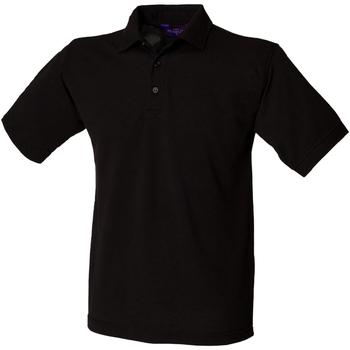 Kleidung Herren Polohemden Henbury HB400 Schwarz