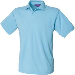 Kleidung Herren Polohemden Henbury HB400 Himmelblau