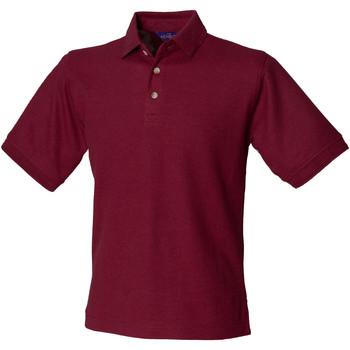 Kleidung Herren Polohemden Henbury HB410 Burgunder