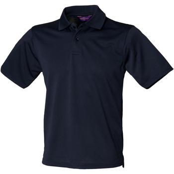 Kleidung Herren Polohemden Henbury HB475 Marineblau
