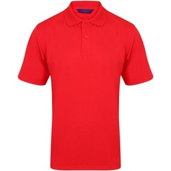 Kleidung Herren Polohemden Henbury HB475 Rot