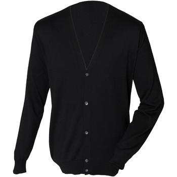 Kleidung Herren Strickjacken Henbury HB722 Schwarz