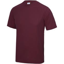 Kleidung Herren T-Shirts Awdis JC001 Burgunderrot