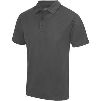 Kleidung Herren Polohemden Awdis JC040 Anthrazit