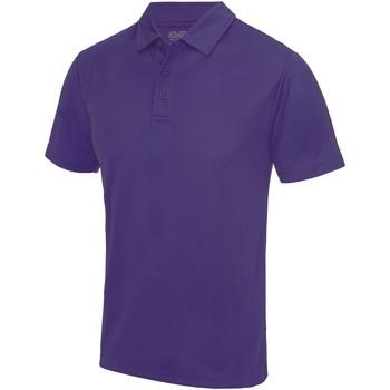 Kleidung Herren Polohemden Awdis JC040 Violett
