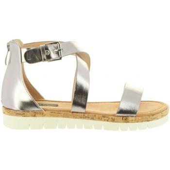 Schuhe Damen Sandalen / Sandaletten MTNG 57594 DAMA Plateado