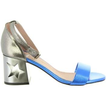 Schuhe Damen Sandalen / Sandaletten MTNG 50719 GOLDEN Gris