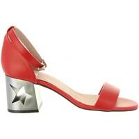 Schuhe Damen Sandalen / Sandaletten MTNG 50719 GOLDEN Rojo