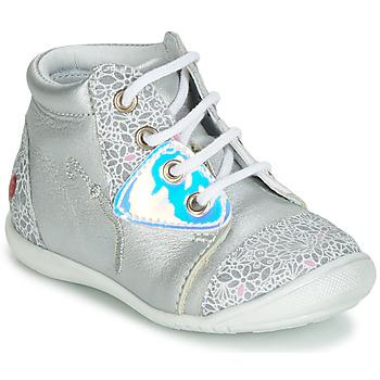 Schuhe Mädchen Sneaker High GBB VERONA Silbern
