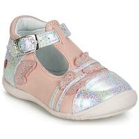 Schuhe Mädchen Ballerinas GBB MERTONE Rose / Silbern