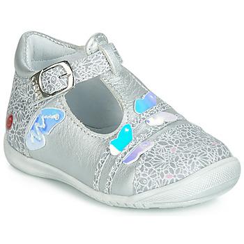 Schuhe Mädchen Ballerinas GBB MERTONE Silbern