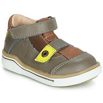 Schuhe Jungen Sandalen / Sandaletten GBB PORRO Grau / Gelb