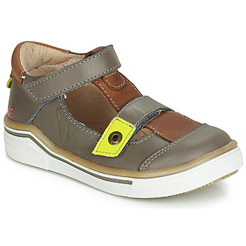 Schuhe Jungen Sandalen / Sandaletten GBB PORRO Grau / Braun