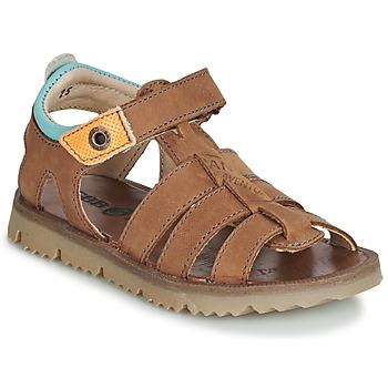 Schuhe Jungen Sandalen / Sandaletten GBB PATHE Braun