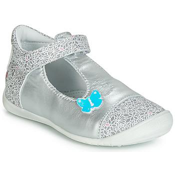 Schuhe Mädchen Ballerinas GBB MERCA Silbern