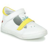 Schuhe Mädchen Sneaker High GBB ARAMA Weiß-gelb / Dpf / Trilly
