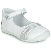 Schuhe Mädchen Ballerinas GBB MALLA Weiss