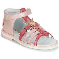Schuhe Mädchen Sandalen / Sandaletten GBB CARETTE Rose