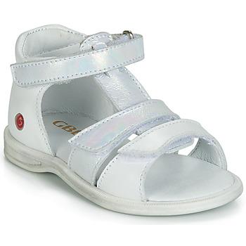 Schuhe Mädchen Sandalen / Sandaletten GBB NAVIZA Weiss