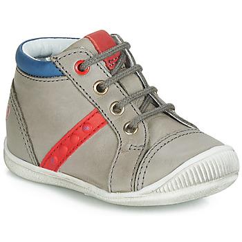 Schuhe Jungen Sneaker High GBB TARAVI Grau / Rot / Blau