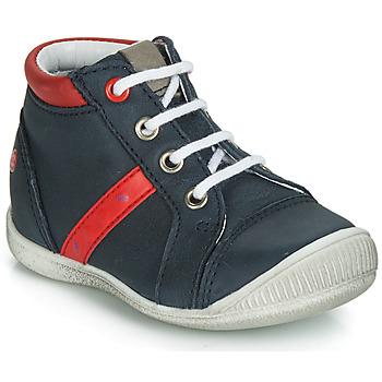 Schuhe Jungen Boots GBB TARAVI Marine / Rot