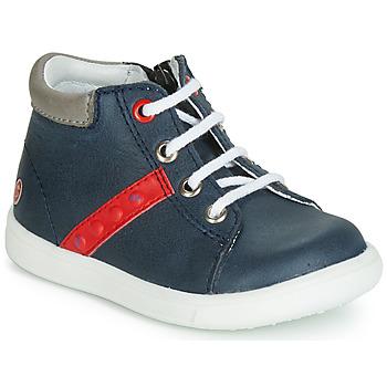 Schuhe Jungen Sneaker High GBB FOLLIO Marine / Rot
