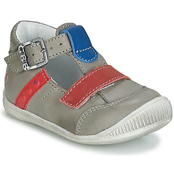 Schuhe Jungen Sandalen / Sandaletten GBB BALILO Grau / Blau / Rot