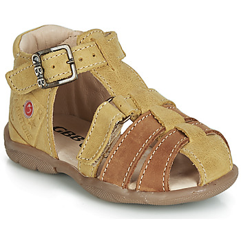 Schuhe Jungen Sandalen / Sandaletten GBB PRIGENT Senf