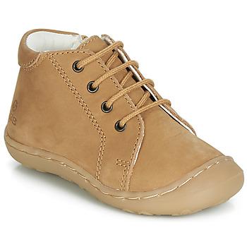 Schuhe Jungen Sneaker High GBB FREDDO Cognac