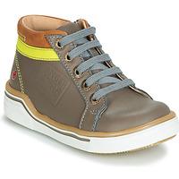 Schuhe Jungen Sneaker High GBB QUITO Grau / Gelb