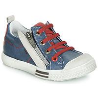 Schuhe Jungen Sneaker Low GBB STELLIO Blau / Rot