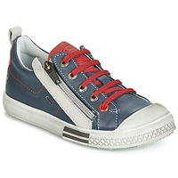 Schuhe Jungen Sneaker Low GBB STELLIO Marine / Rot