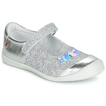 Schuhe Mädchen Ballerinas GBB SACHIKO Silbern