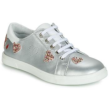 Schuhe Mädchen Sneaker Low GBB ASTOLA Silbern