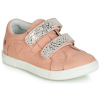 Schuhe Mädchen Sneaker Low GBB BALOTA Rose / Silbern