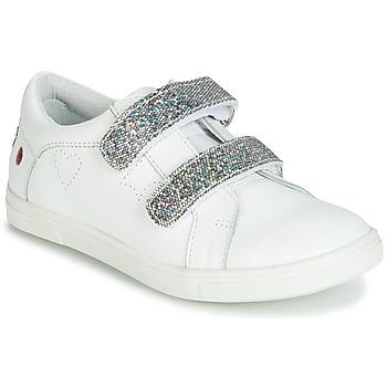Schuhe Mädchen Sneaker Low GBB BALOTA Weiss / Silbern