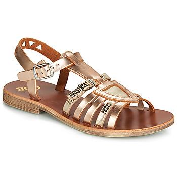 Schuhe Mädchen Sandalen / Sandaletten GBB FANNI Bronze