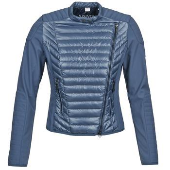 Kleidung Damen Jacken / Blazers S.Oliver JONES Blau