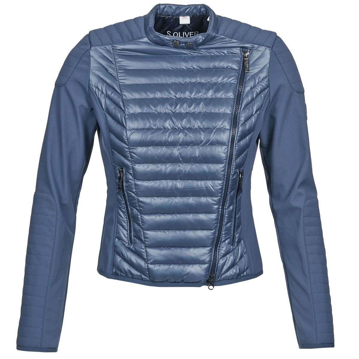 s oliver jones blau kostenloser versand bei kleidung jacken blazers damen 95 20. Black Bedroom Furniture Sets. Home Design Ideas