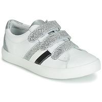 Schuhe Mädchen Sneaker Low GBB MADO Weiss / Silbern