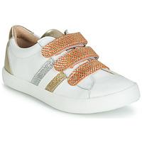 Schuhe Mädchen Sneaker Low GBB MADO Weiss / Gold
