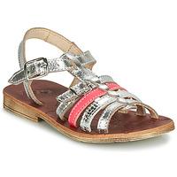 Schuhe Mädchen Sandalen / Sandaletten GBB BANGKOK Silbern / Rose
