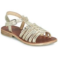 Schuhe Mädchen Sandalen / Sandaletten GBB BANGKOK Gold